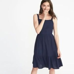 NWT Old Navy Apron-Front Fit & Flare Dress XXL